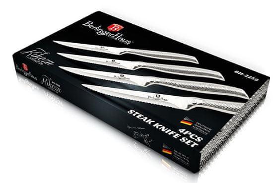 Berlingerhaus set noževa za odreske od nehrđajućeg čelika Kikoza Collection, 4 komada