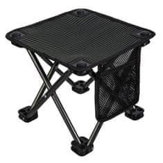King Camp Kempingová skládací židlička - černá