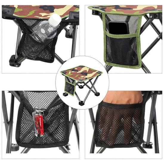 King Camp Kempingová skládací židlička - zelená
