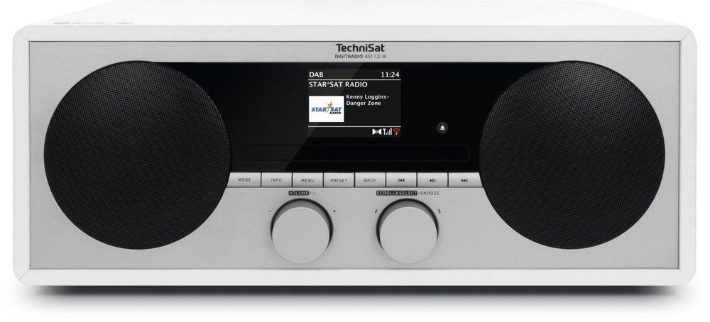 Technisat DIGITRADIO 451 CD IR, bílá