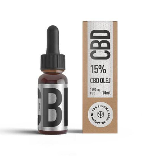 CBD Pharma konopný olej 15 % 10 ml