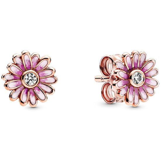 Pandora Romantické kvetinové náušnice 288773C01