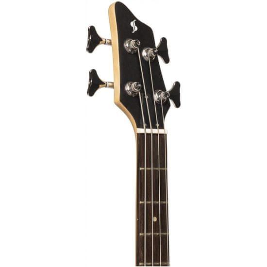 Stagg SBF-40 BLK 3/4, elektrická baskytara 3/4, černá