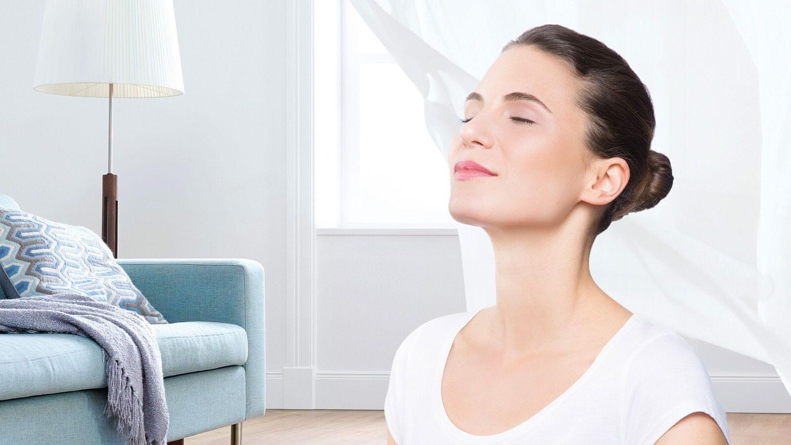 Izpušni zrak bo čistejši od zraka v vašem domu.
