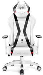 Diablo Chairs X-Horn 2.0, dětská, bílá/černá (5902560337877)