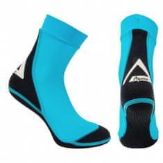 AGAMA Neoprenové ponožky BEACH 1,5 mm 2XL 44/45 tyrkys