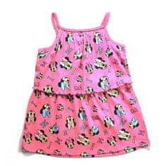 """Eplusm Otroška obleka """"Minnie Mouse"""" - roza - 98 / 2–3 leta"""