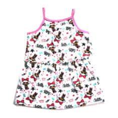 "Eplusm Otroška obleka ""LOL"" - svetlo roza - 98 / 2–3 leta"