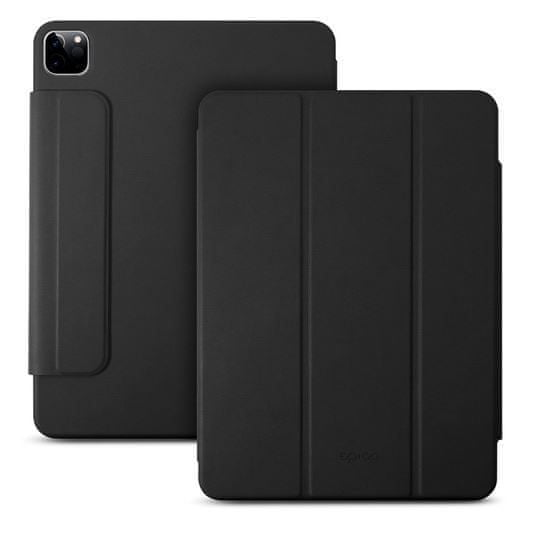EPICO Smart Flip Case ovitek za iPad Pro 12,9 (2018)/iPad Pro 12,9 (2020), preklopni, črn