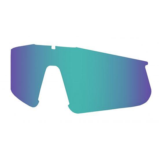 Hatchey Náhradní sklo Apex gray / full REVO blue