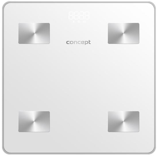 CONCEPT waga diagnostyczna VO4000 180 kg PERFECT HEALTH, biała