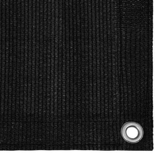 shumee fekete sátorszőnyeg 250 x 600 cm