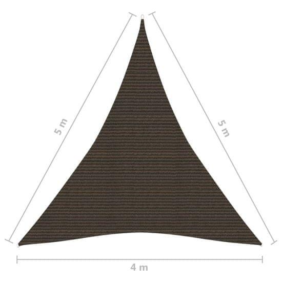 shumee Sun Sail 160 g / m² Hnedá 4x5x5 m HDPE