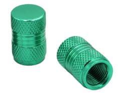 M-Style CNC čepičky ventilků zelená