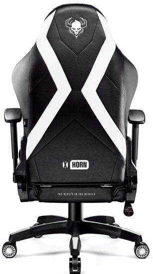 Diablo Chairs X-Horn 2.0, XL, černá/bílá (5902560336900)