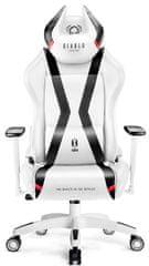 Diablo Chairs X-Horn 2.0, XL, bílá/černá (5902560337860)