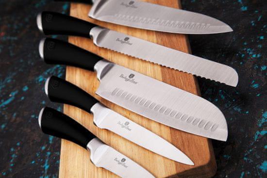 Berlingerhaus Infinity Line Black set noževa sa stalkom, 8 komada