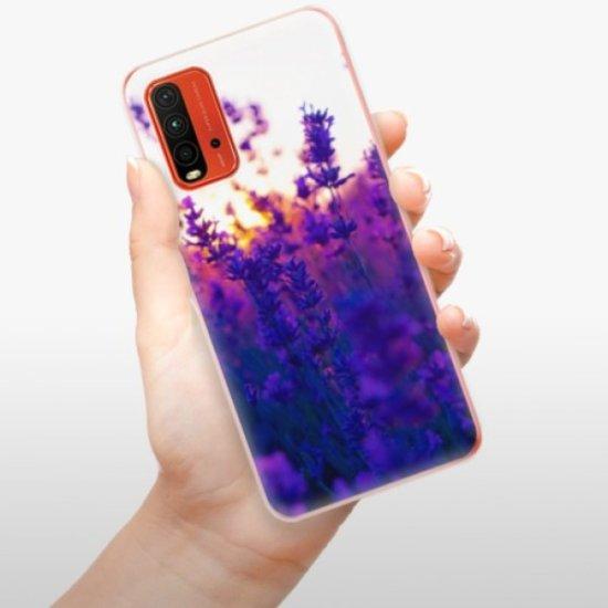 iSaprio Silikonowe etui - Lavender Field na Xiaomi Redmi 9T