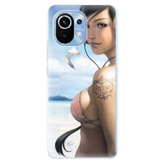 iSaprio Silikónové puzdro - Girl 02 pre Xiaomi Mi 11