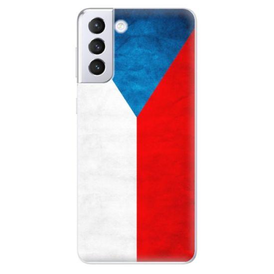 iSaprio Silikonowe etui - Czech Flag na Samsung Galaxy S21+