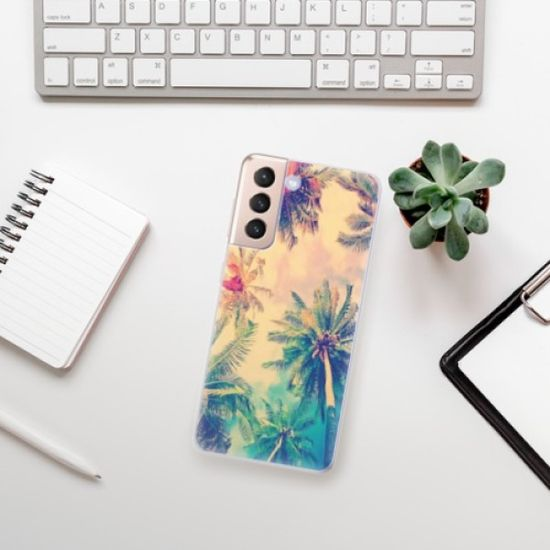 iSaprio Silikonowe etui - Palm Beach na Samsung Galaxy S21
