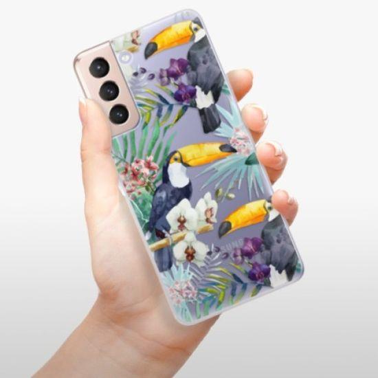 iSaprio Tucan Pattern 01 szilikon tok Samsung Galaxy S21