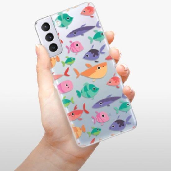 iSaprio Fish pattern 01 szilikon tok Samsung Galaxy S21+