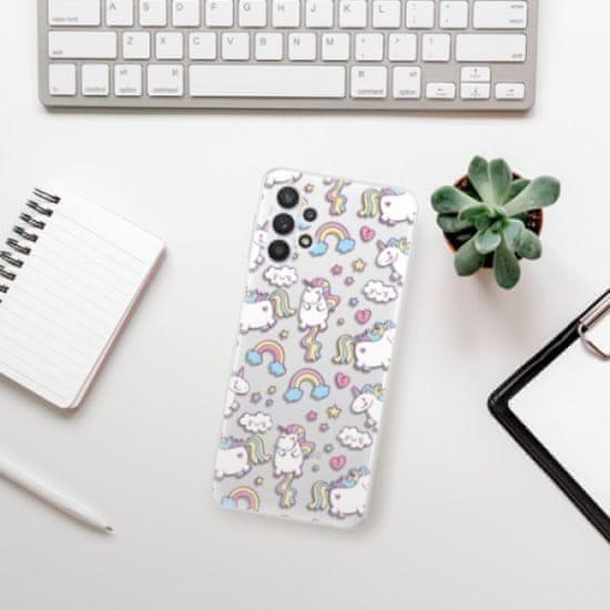iSaprio Silikonowe etui - Unicorn pattern 02 na Samsung Galaxy A32 5G