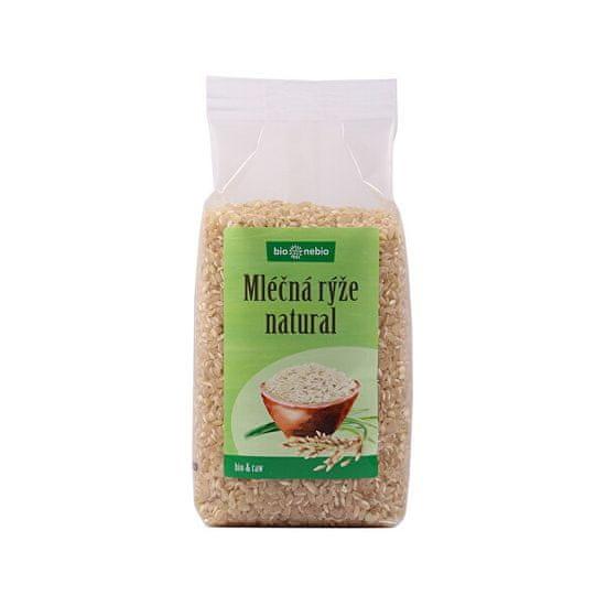 bio nebio Bio Rýže kulatozrnná natural 500 g