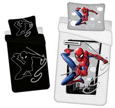 Jerry Fabrics Povlečení Spiderman 02 svítící