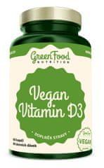 GreenFood Vegan Vitamín D3 60kapsúl