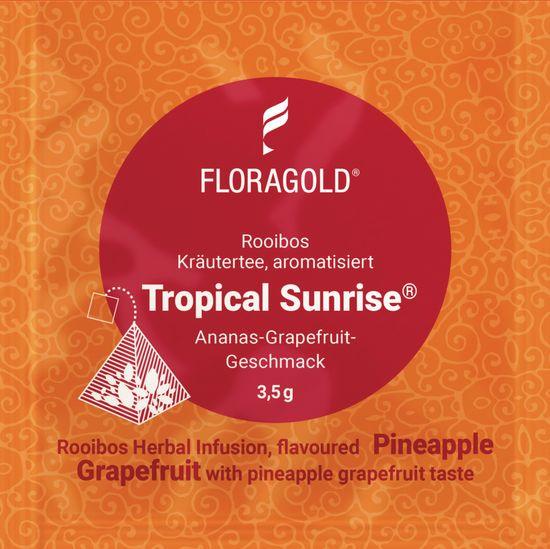 Floragold Bylinný čaj Rooibos Tropical Sunrise (ananas-grapefruit) 15 ks