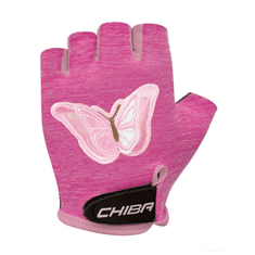 Cyklistické rukavice pro děti Cool Kids Motýl