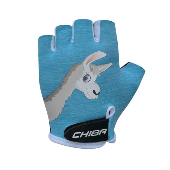 CHIBA Cyklistické rukavice pro děti Cool Kids Lama
