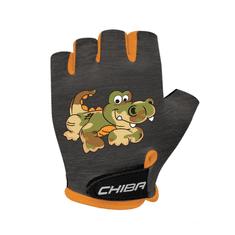 Cyklistické rukavice pro děti COOL KIDS Krokodýl