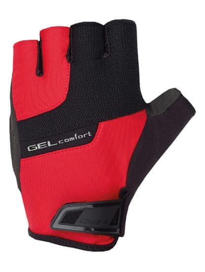 CHIBA Cyklistické rukavice pro dospělé Gel Comfort Červené