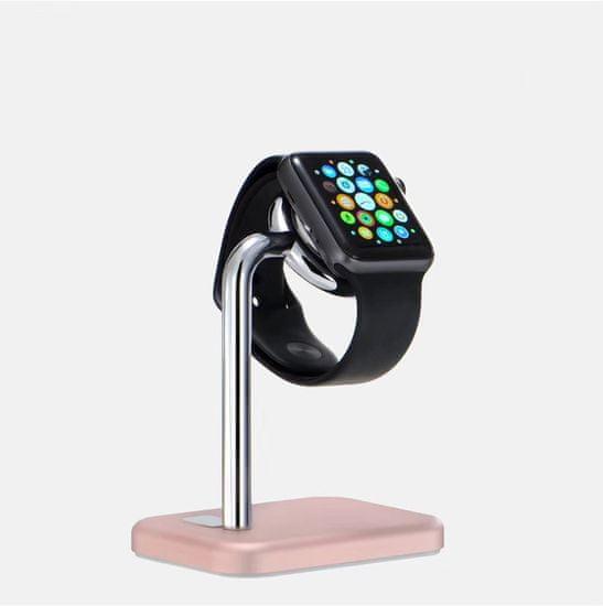 Coteetci Base21 töltőállomás az Apple Watch CS7203-MRG készülékhez, rózsaszín-arany