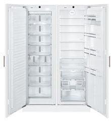 Liebherr SBS 70I4 vgradni ameriški hladilnik