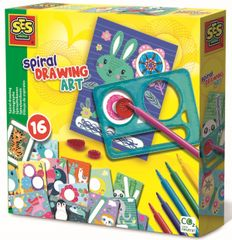 SES risanje spiralnih živali