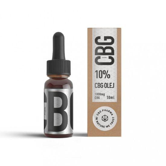 CBD Pharma CBG olej 10 % 10 ml