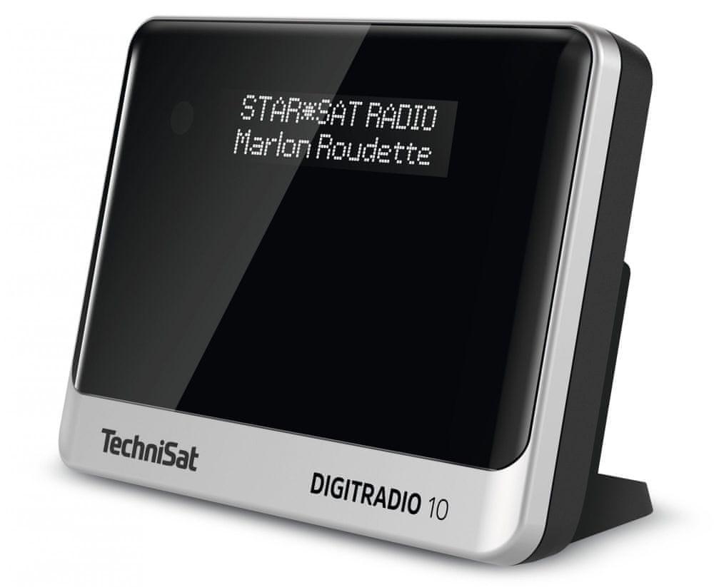 Technisat DIGITRADIO 10, černá/stříbrná