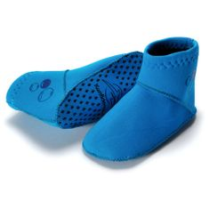 KONFIDENCE Neoprenske nogavičke za dojenčke, svetlo modra, 4-6 mesecev