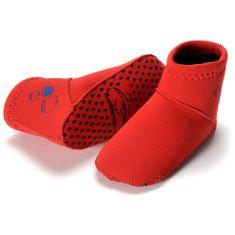 KONFIDENCE Neoprenske nogavičke za dojenčke, rdeča, 7-12 mesecev