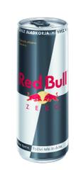 RedBull Zero energijska pijača s tavrinom in kofeinom, s sladili, 250 ml