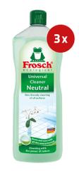 Frosch univerzalno čistilo, Neutral, 3 x 1L