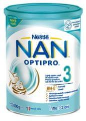 NAN Optipro 3 nadaljevano mleko za majhne otroke, 800 g