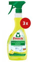 Frosch čistilo za kopalnice Citrus, 3 x 500 ml
