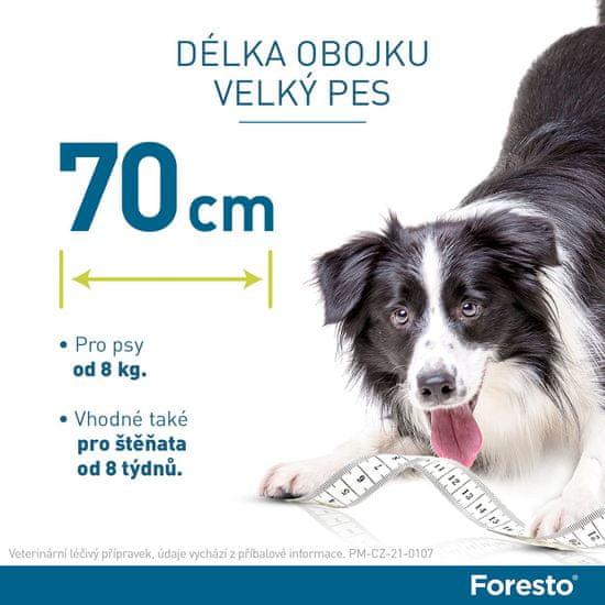 Bayer Foresto obojek pro psy nad 8kg 70cm