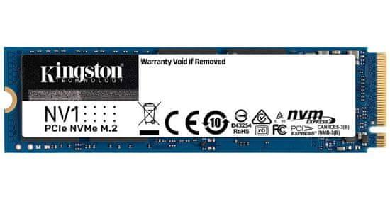 Kingston NV1 SSD disk, 1 TB, M.2 PCIe NVMe