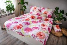 Jahu posteljnina Roza cvetovi